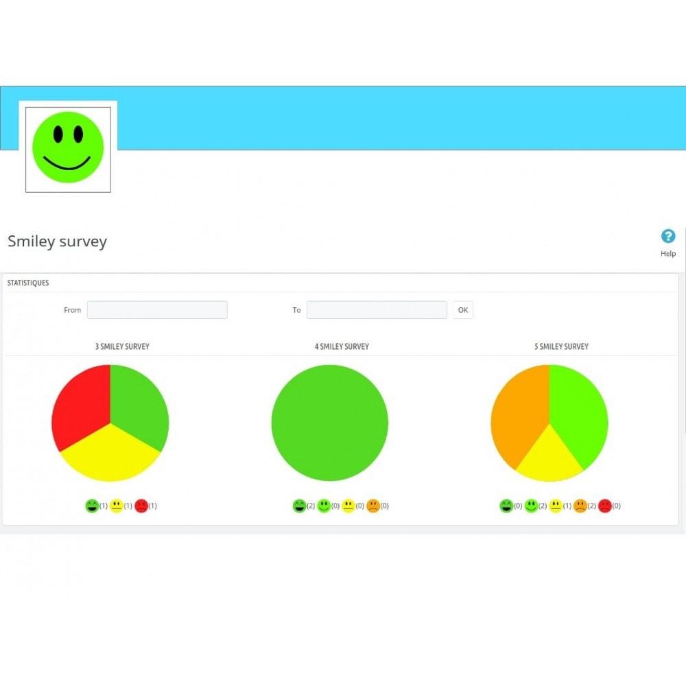 module - Formulario de contacto y Sondeos - Smileys Customer Satisfaction Survey - 9