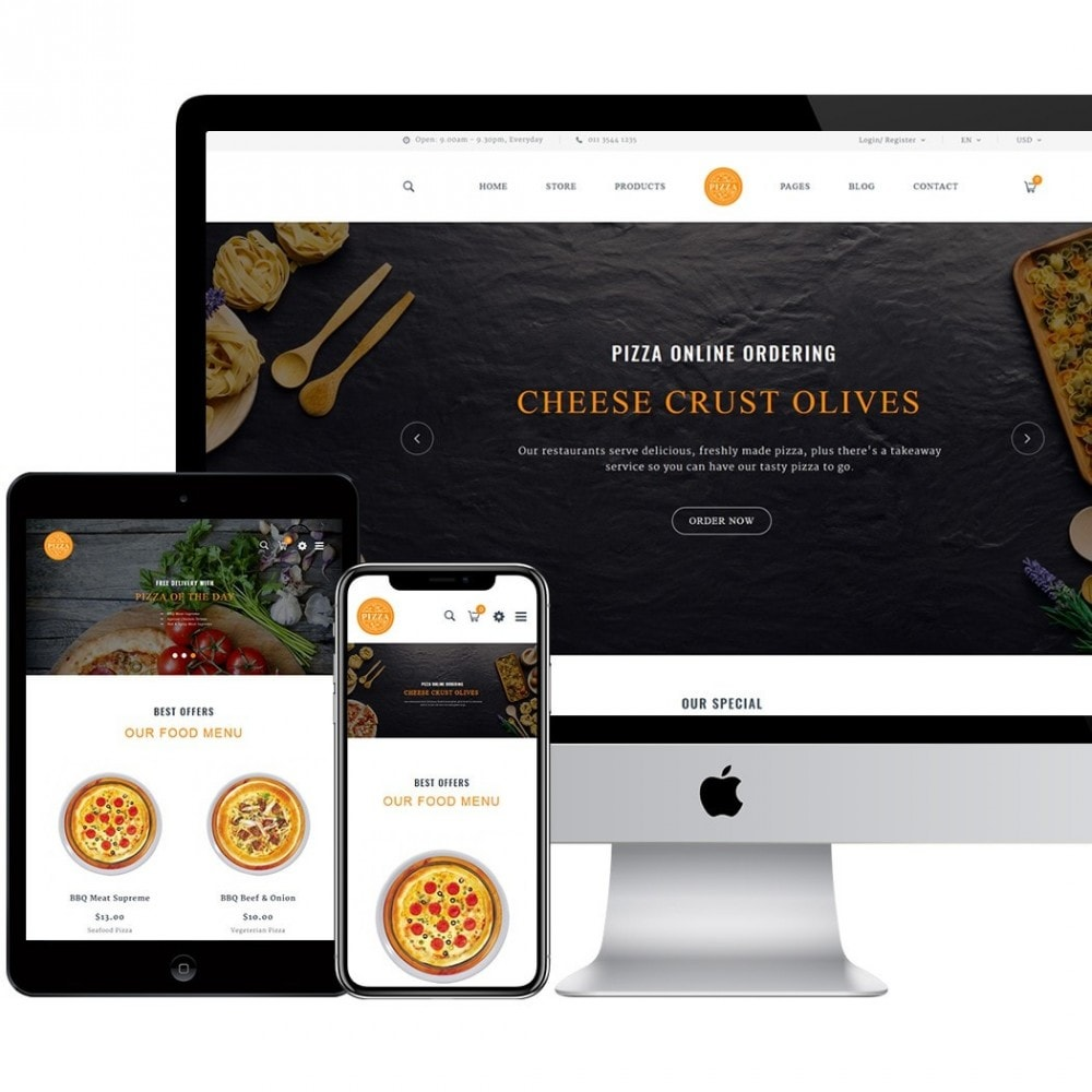 theme - Food & Restaurant - FastFood - 2