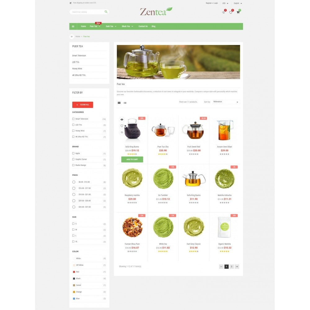 theme - Alimentos & Restaurantes - Zentea - Health & Beauty - 3
