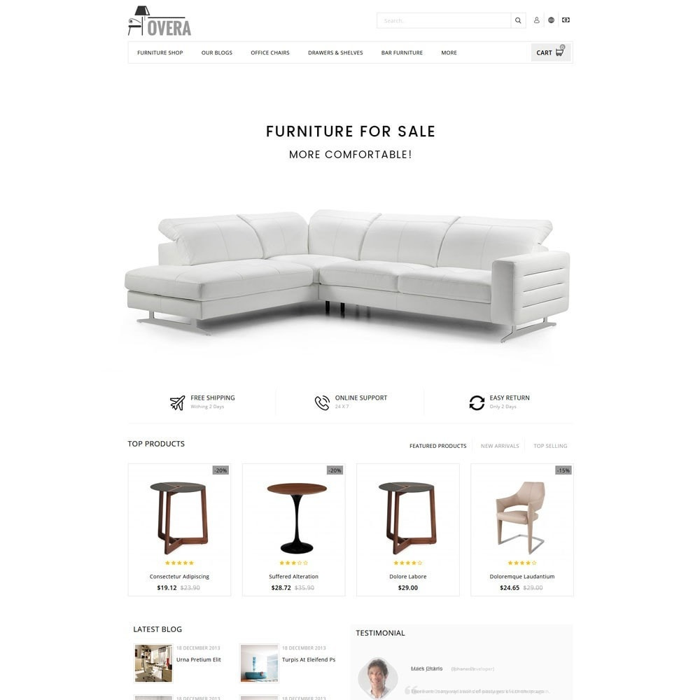 theme - Home & Garden - Hovera Furniture Store - 2