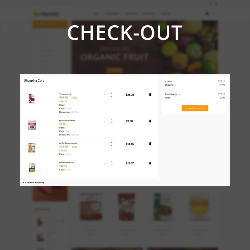 theme - Food & Restaurant - Fruveg - The Grocery Store - 13