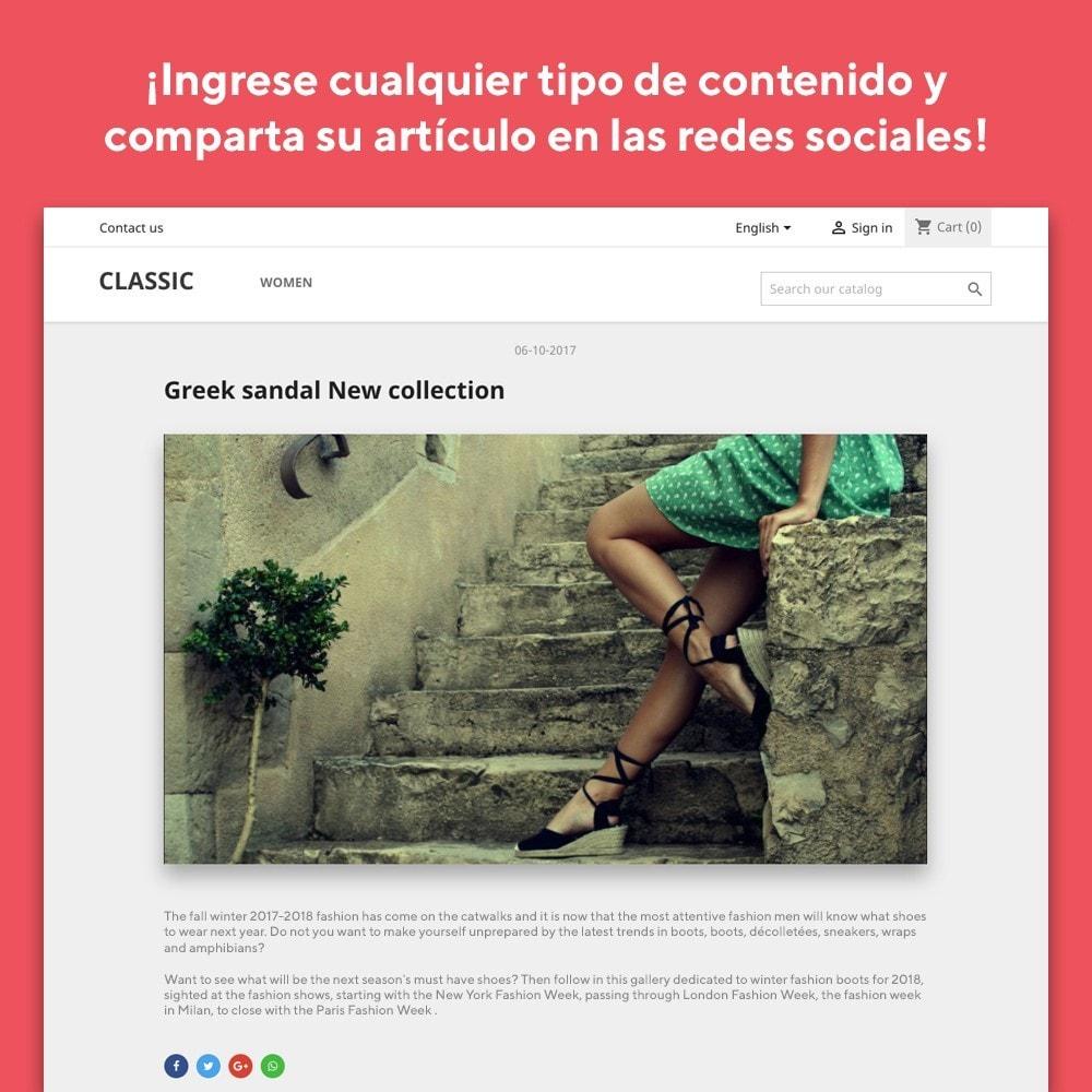 module - Blog, Foro y Noticias - Mr Blog - 4