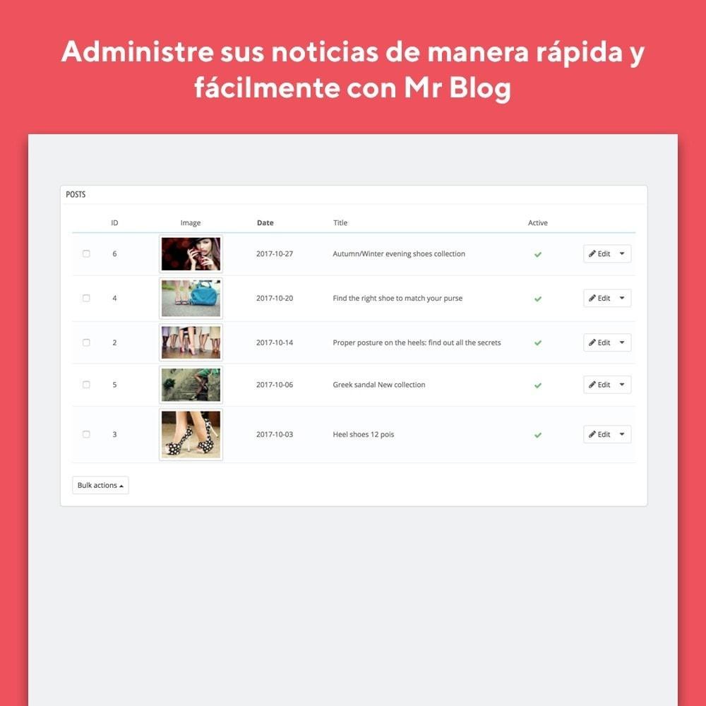 module - Blog, Foro y Noticias - Mr Blog - 5