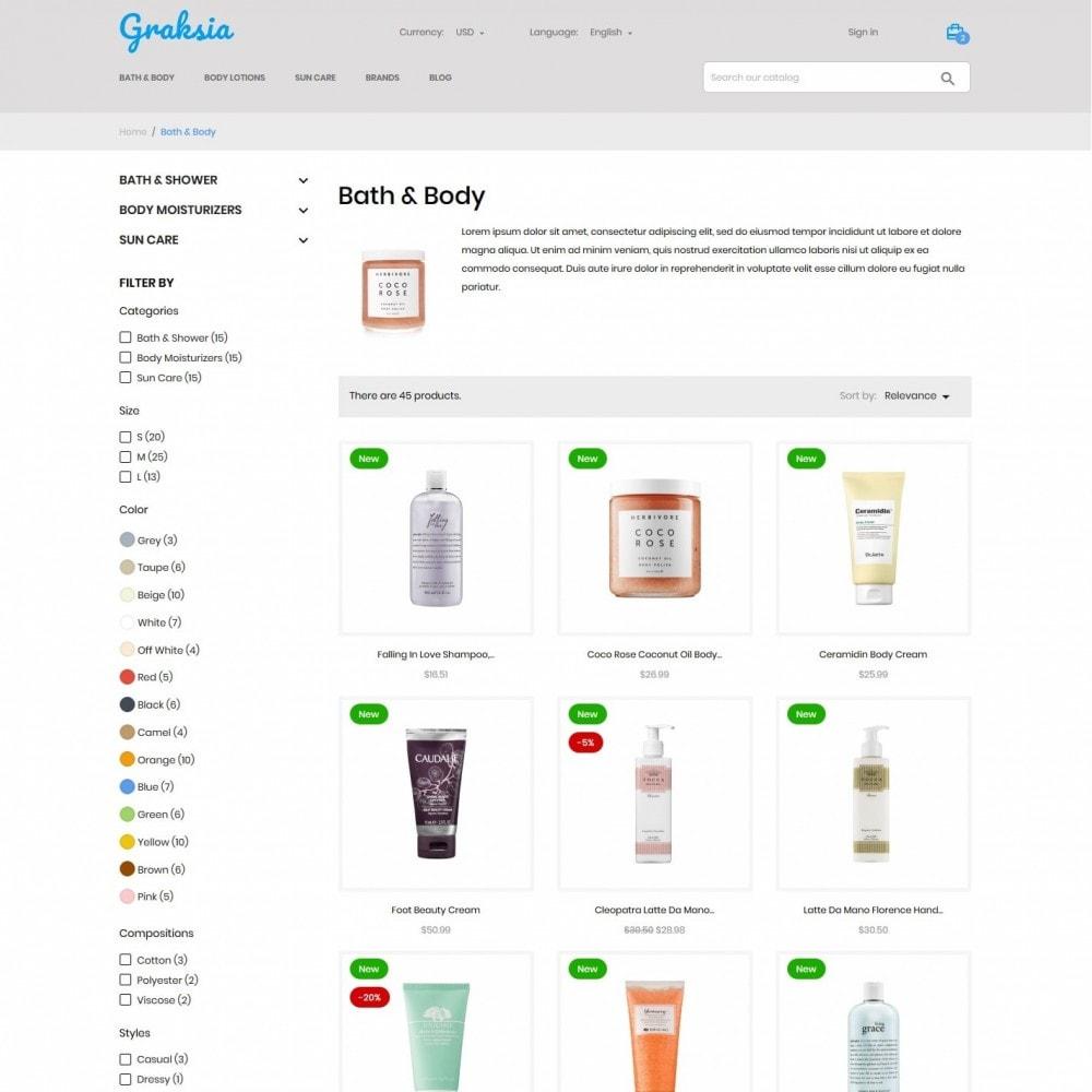 theme - Health & Beauty - Graksia Cosmetics - 5