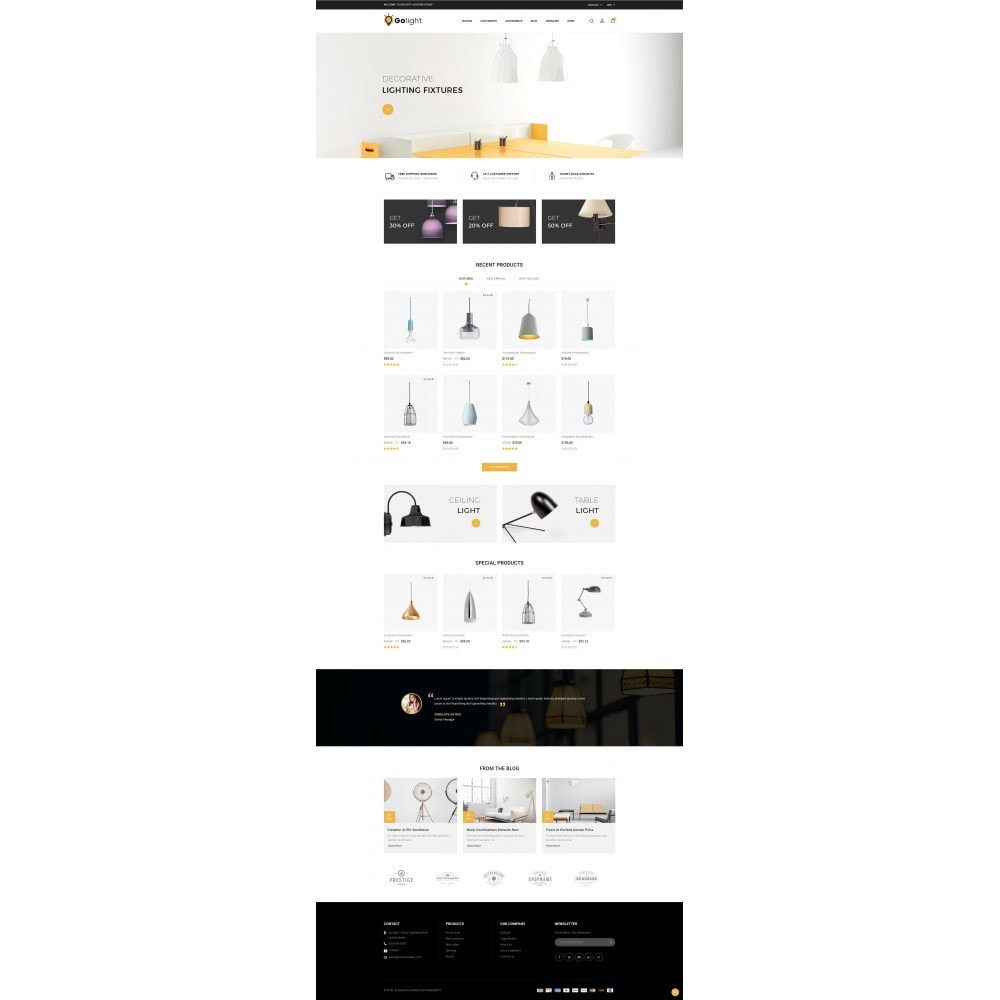 theme - Gifts, Flowers & Celebrations - GoLight - Fancy Light Store - 2