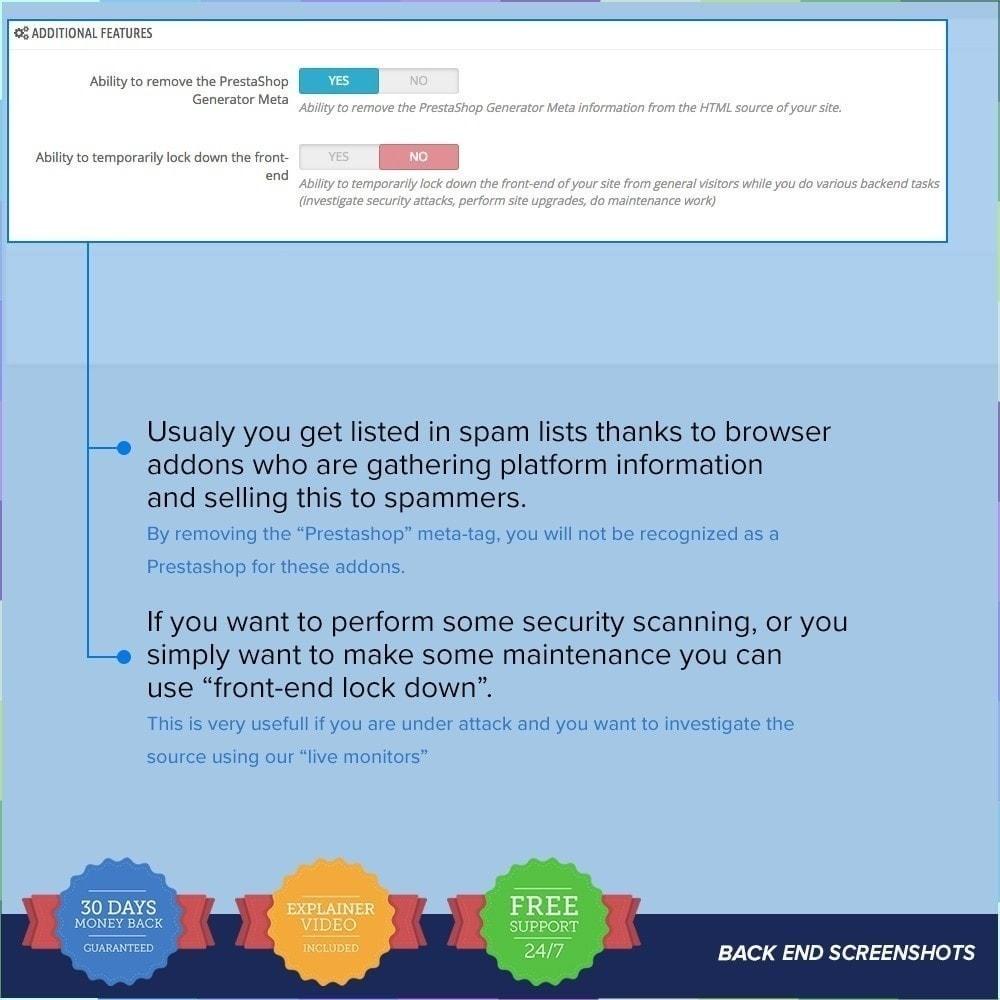 module - Sécurité & Accès - Protection du magasin PRO/Anti-Piratage - 26