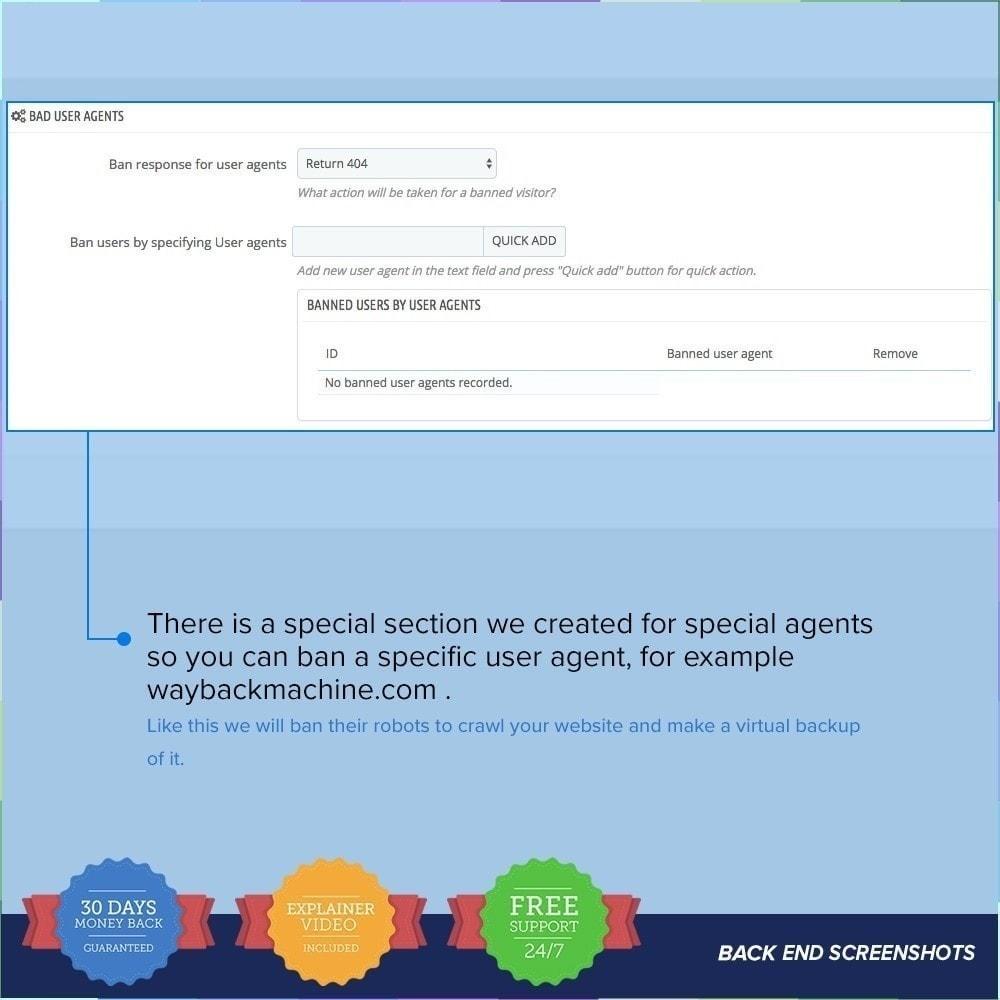 module - Seguridad y Accesos - Protector de Tienda PRO / Anti Fraude - 20