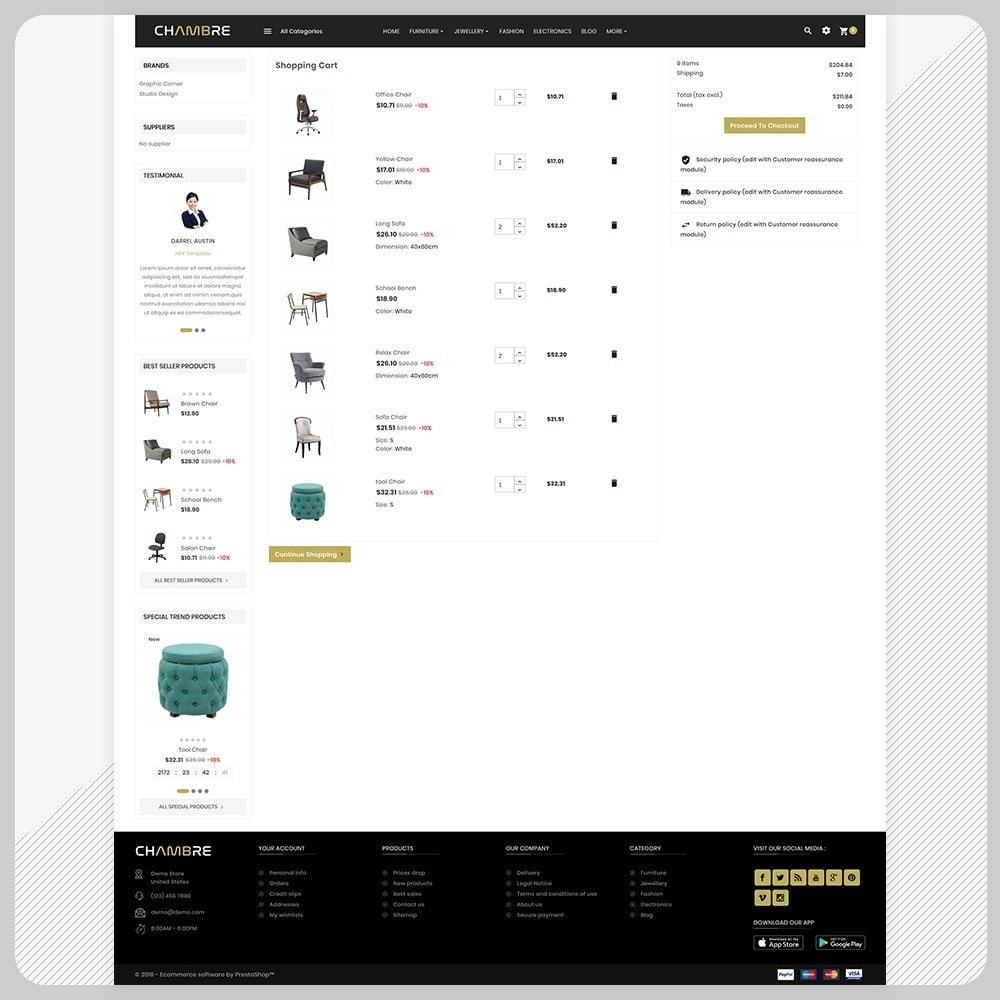 theme - Casa & Jardins - Mueble– Furniture Boots Large Shop - 5