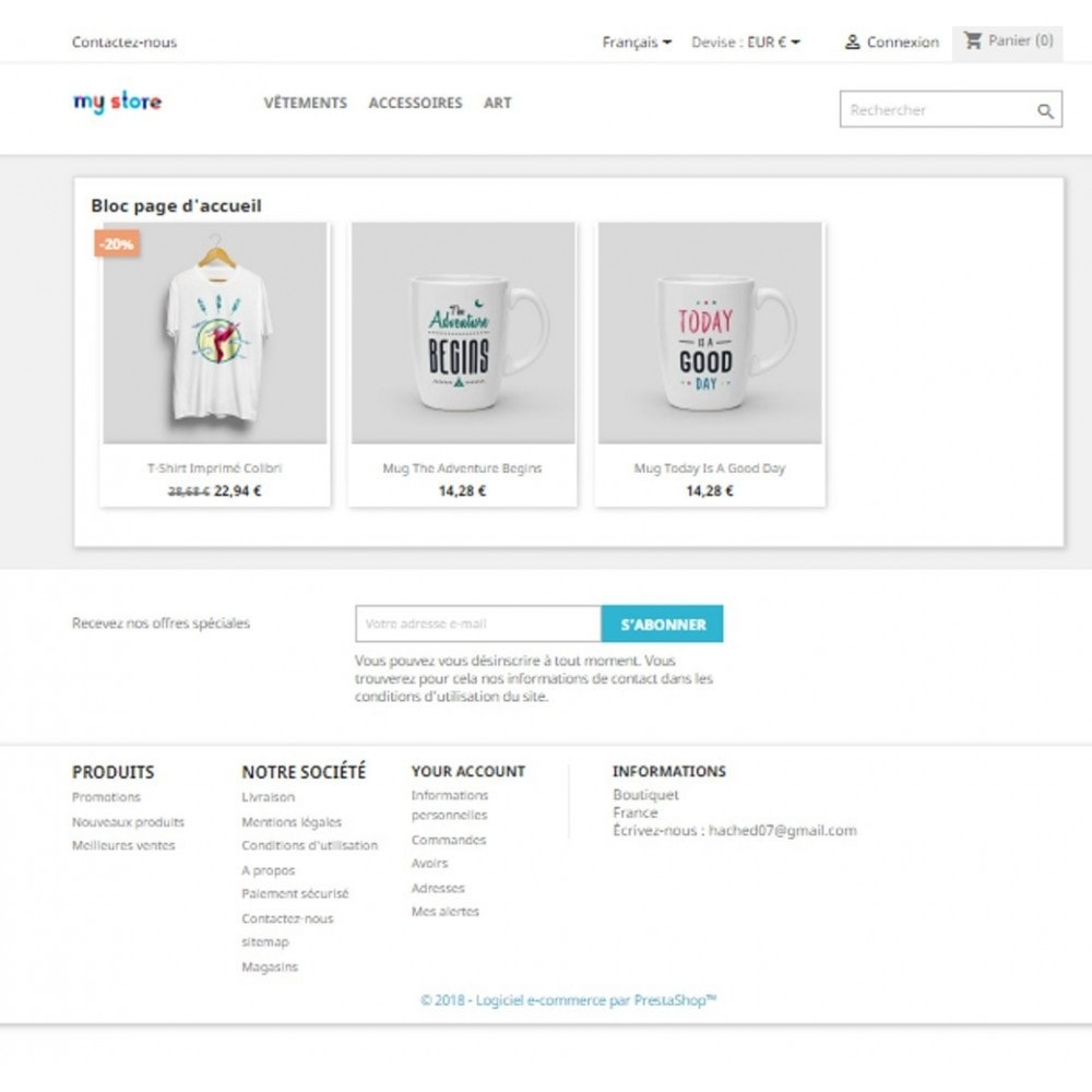 module - Bundels & Personalisierung - Block or page of preselected products - 6