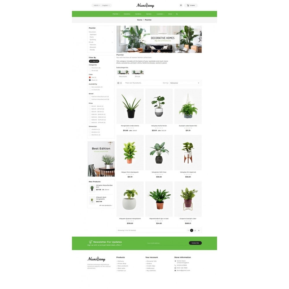 theme - Home & Garden - Nursery Plant & Garden Tools - 5
