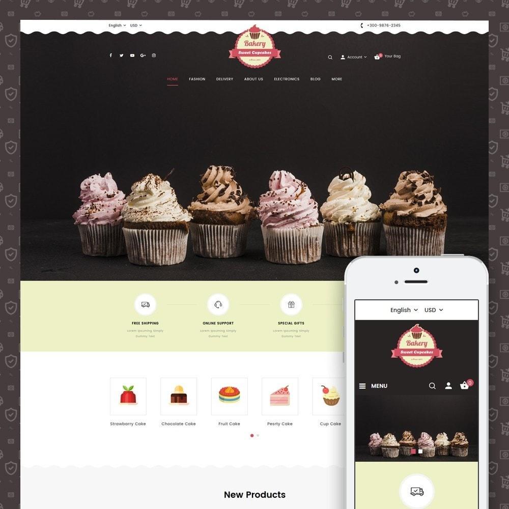 theme - Lebensmittel & Restaurants - Sweet Cupcakes Store - 1
