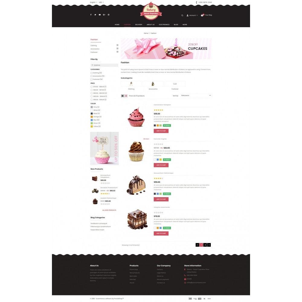 theme - Lebensmittel & Restaurants - Sweet Cupcakes Store - 4