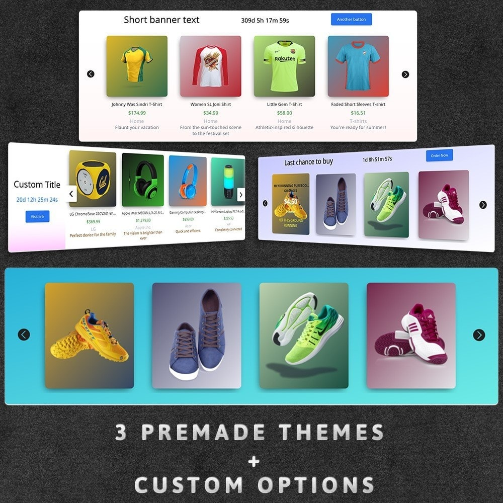 module - Products on Homepage - Color Magic Ultimate Products Sliders - 6