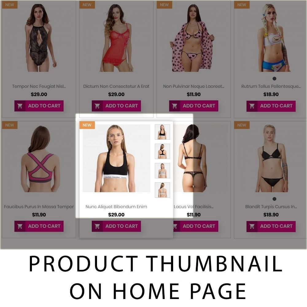 theme - Lingerie & Adult - Lezzy - The Lingerie Multistore GB109 - 7