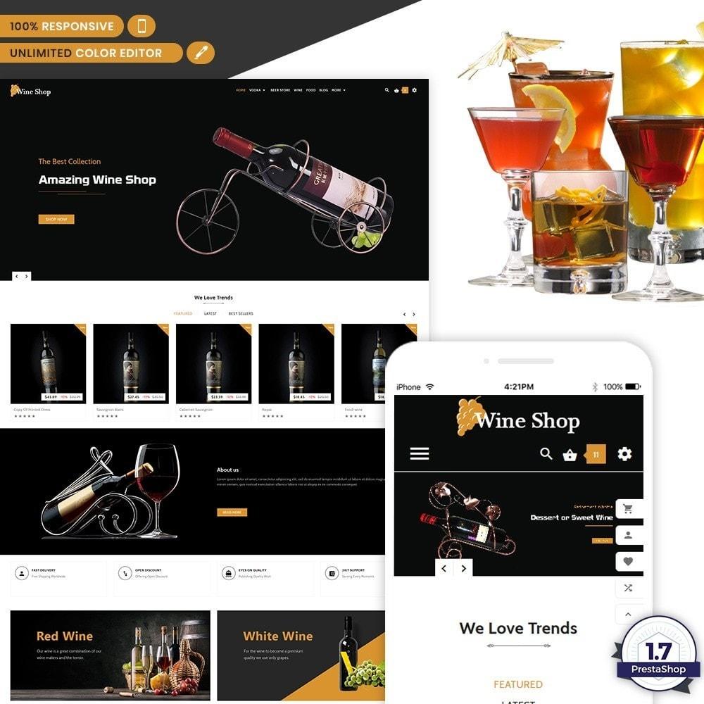 theme - Напитки и с сигареты - Wine Shop - Wine Multi Store - 1