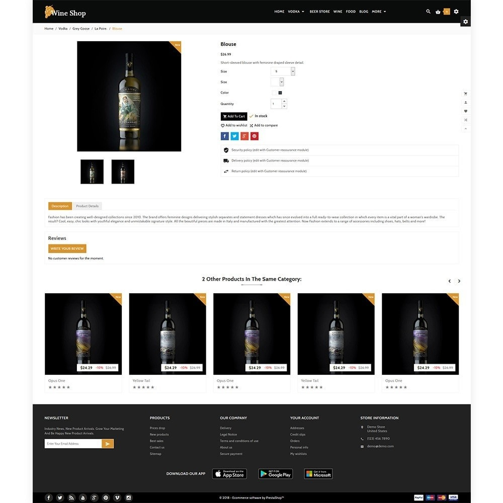 theme - Напитки и с сигареты - Wine Shop - Wine Multi Store - 5