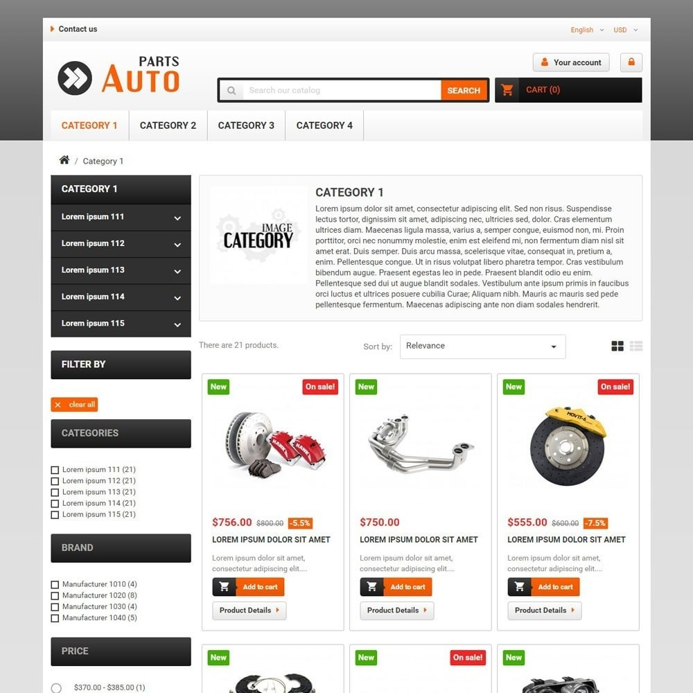 theme - Automotive & Cars - AutoParts - 2