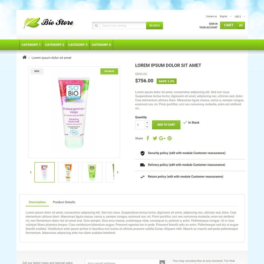 theme - Health & Beauty - BioStore - 3