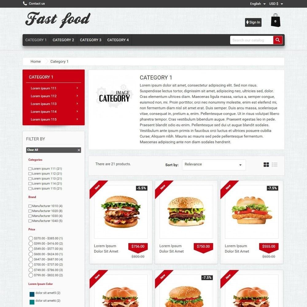theme - Alimentos & Restaurantes - FastFood - 2