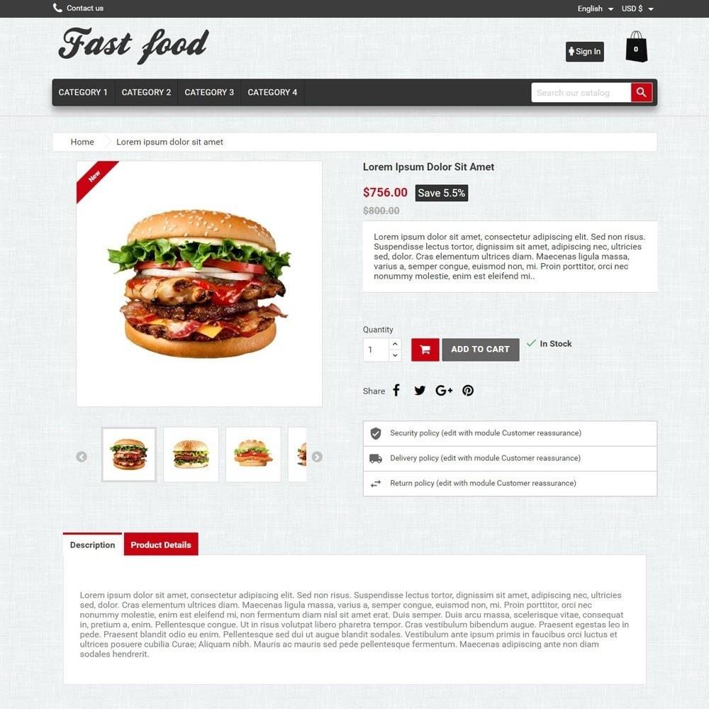 theme - Alimentos & Restaurantes - FastFood - 3