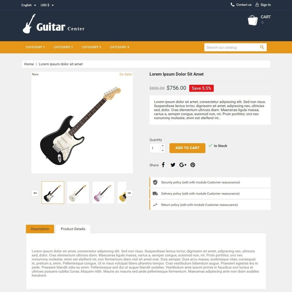 theme - Kultura & Sztuka - GuitarCenter - 3
