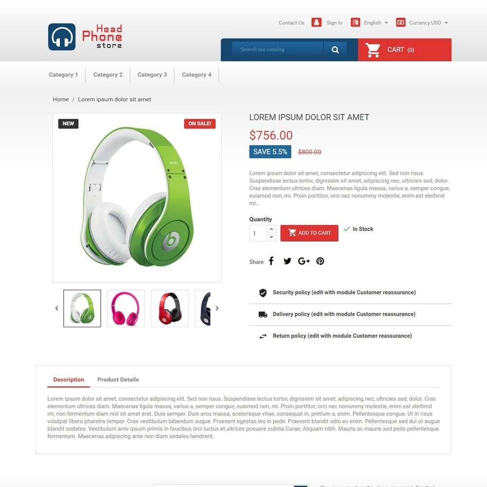 theme - Electrónica e High Tech - HeadphoneStore - 3