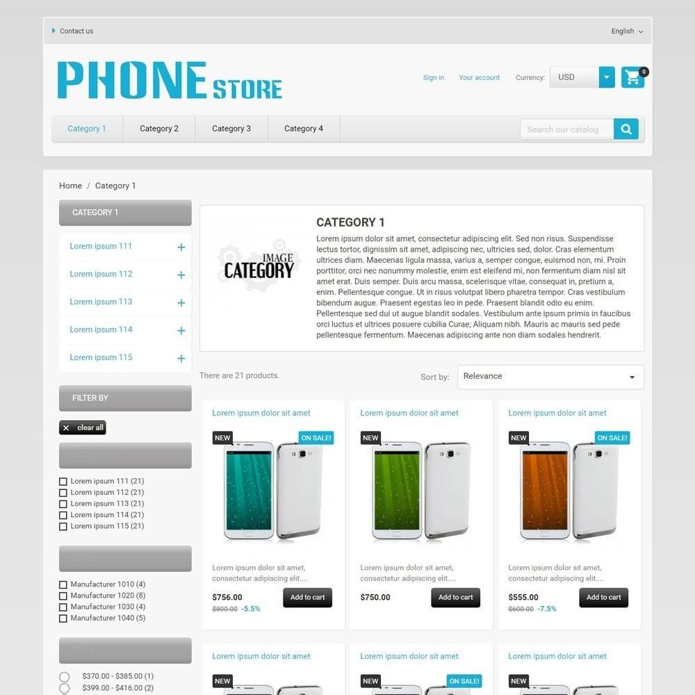 theme - Electronique & High Tech - PhoneStore - 2