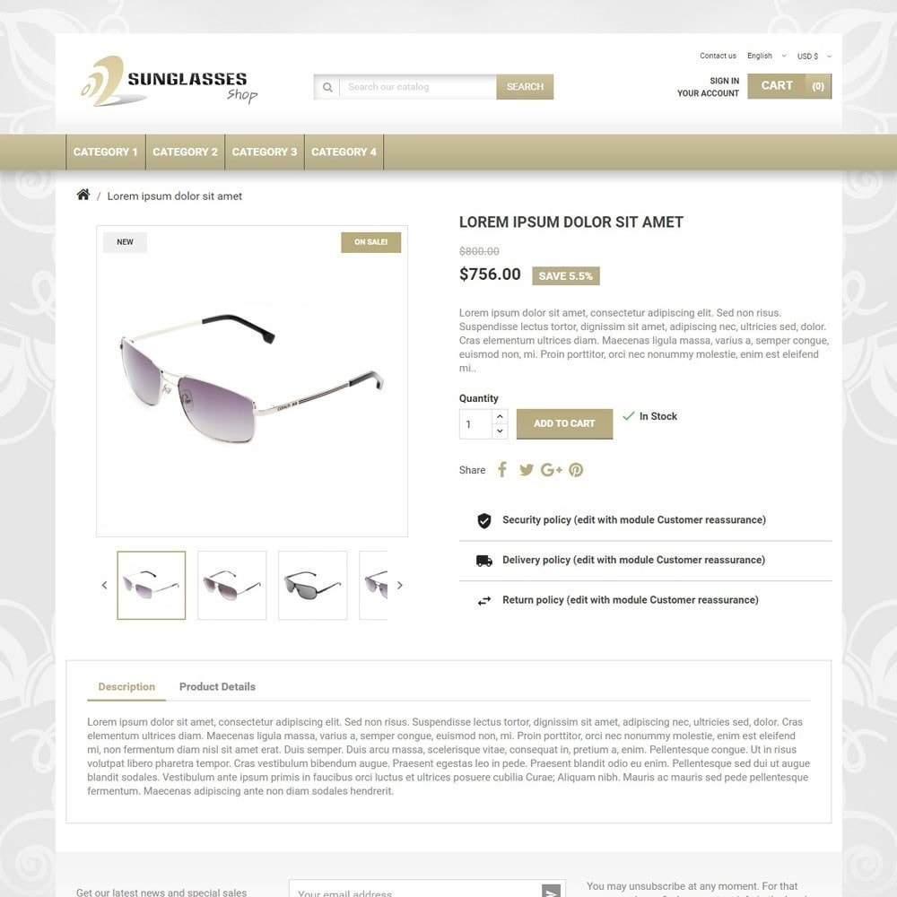 theme - Jewelry & Accessories - SunglassesShop - 3