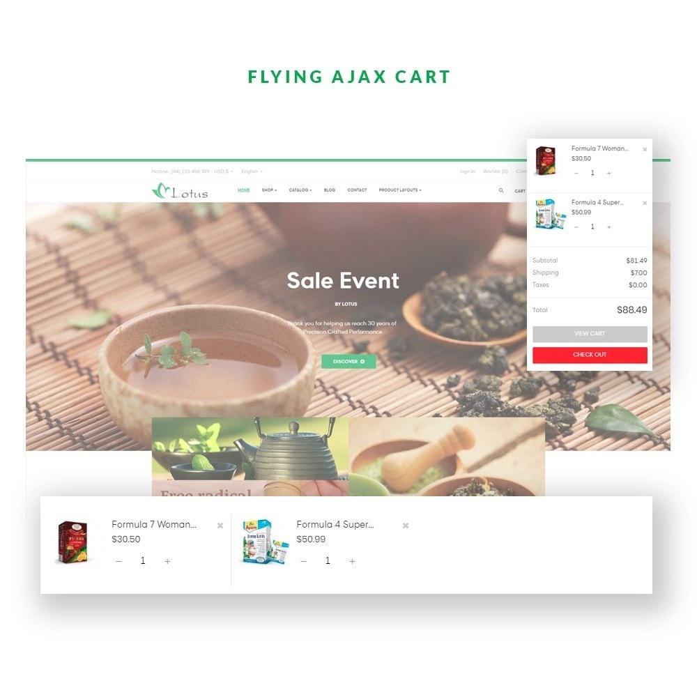 theme - Alimentos & Restaurantes - Ap Lotus - 1