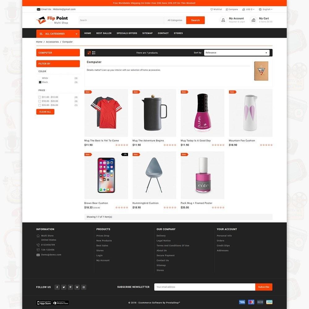 theme - Elektronik & High Tech - Flippoint - The Best Multi Store - 3