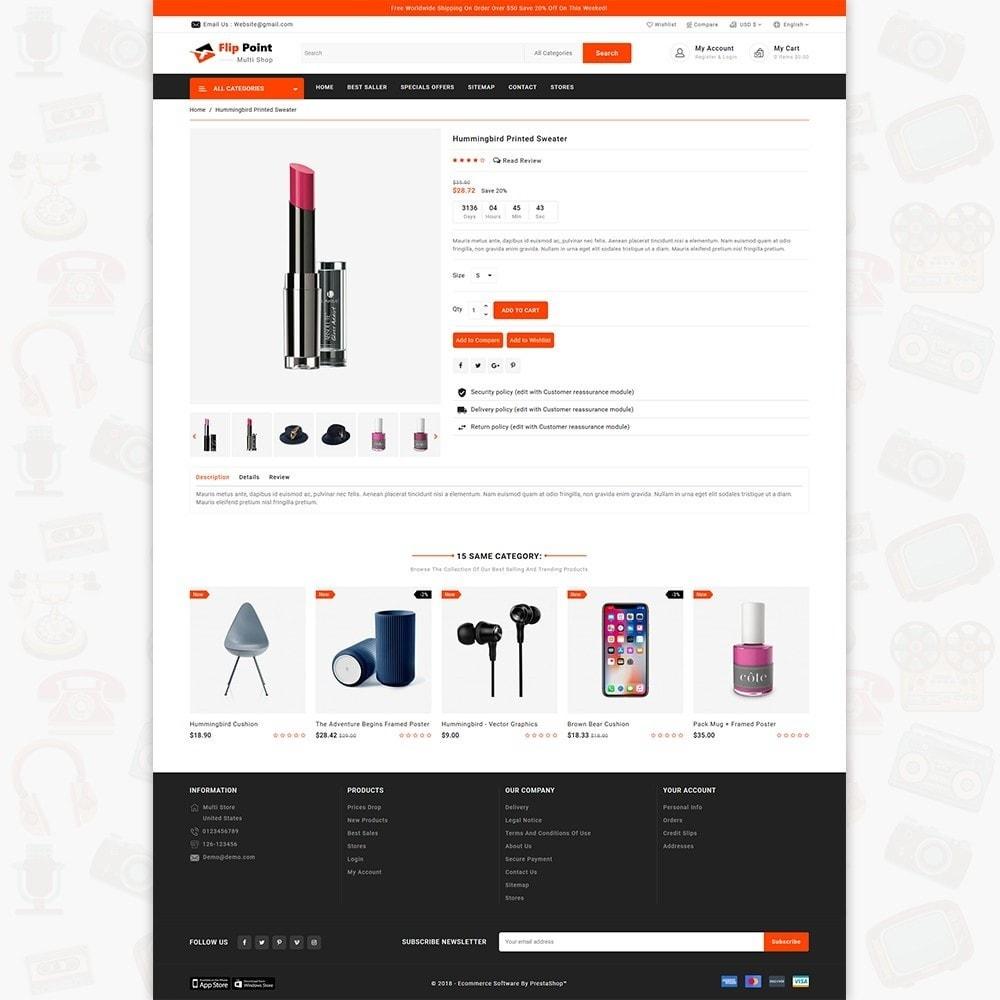 theme - Elektronik & High Tech - Flippoint - The Best Multi Store - 5