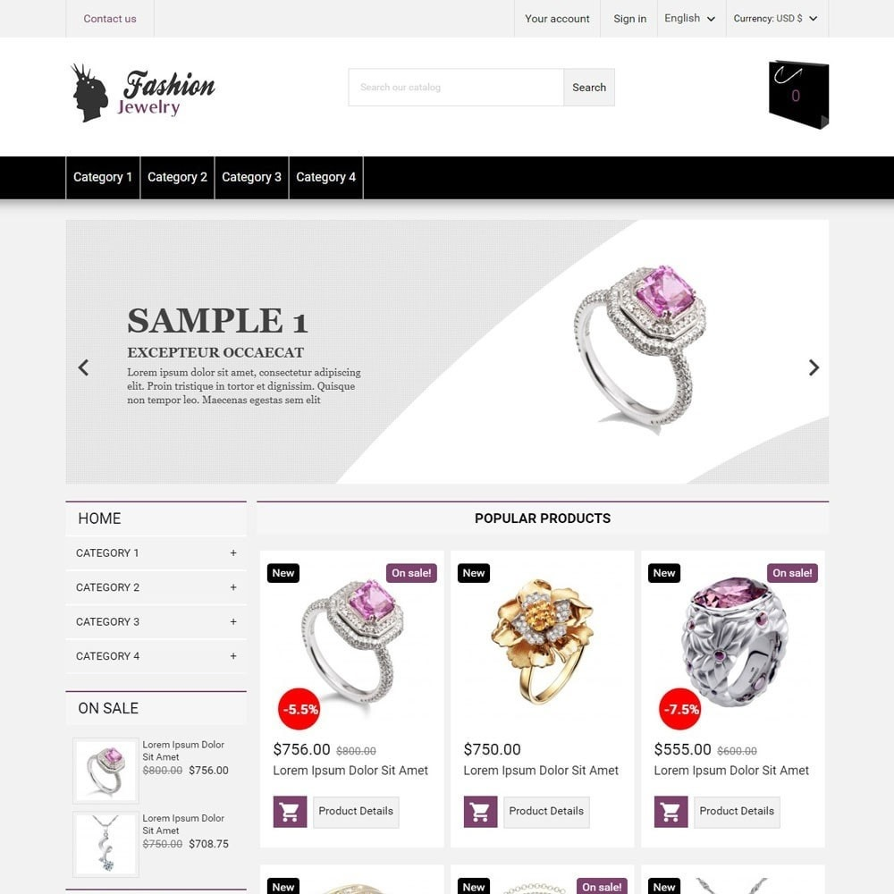 theme - Jewelry & Accessories - FashionJewelry - 1