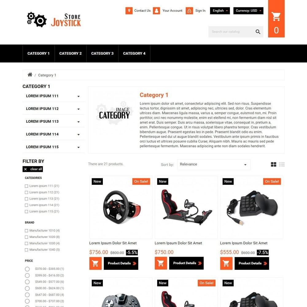 theme - Elektronica & High Tech - JoystickStore - 2