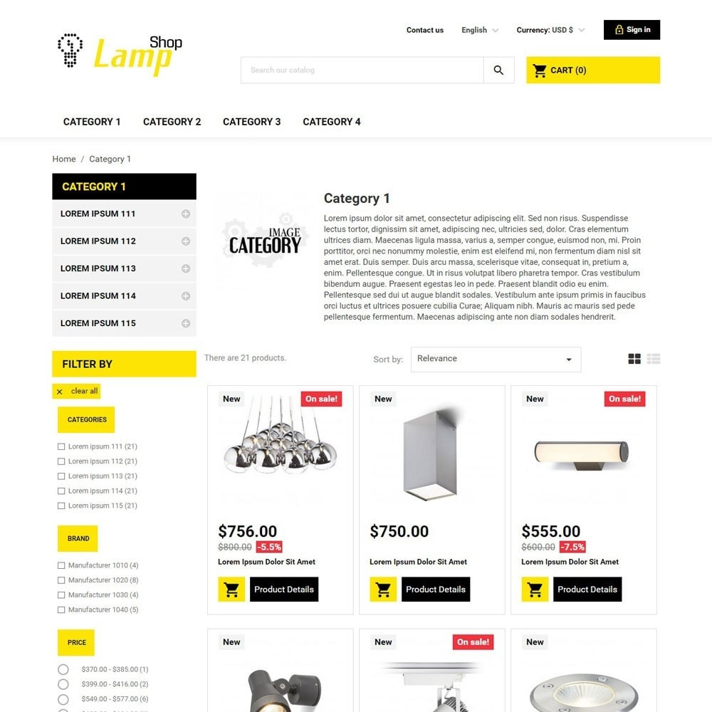 theme - Home & Garden - LampShop - 2