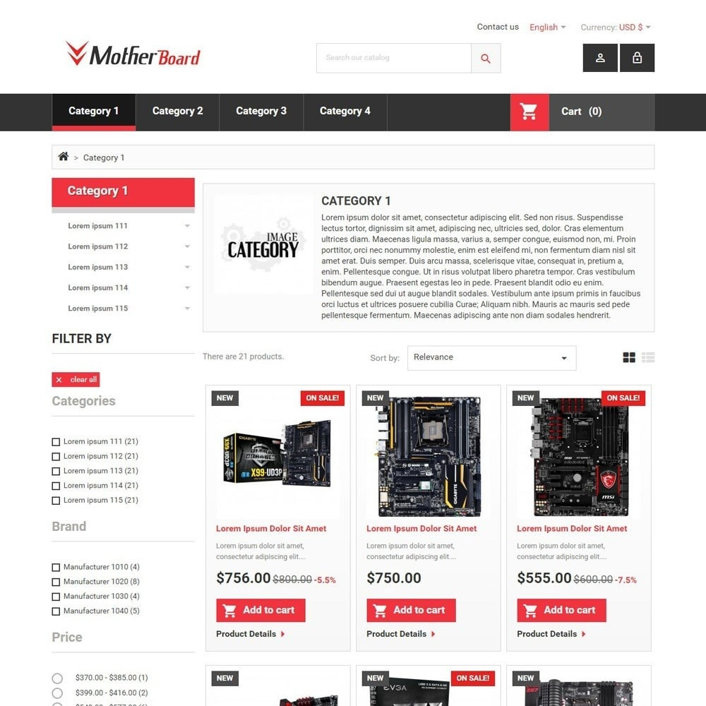theme - Electronics & Computers - MotherBoard - 2