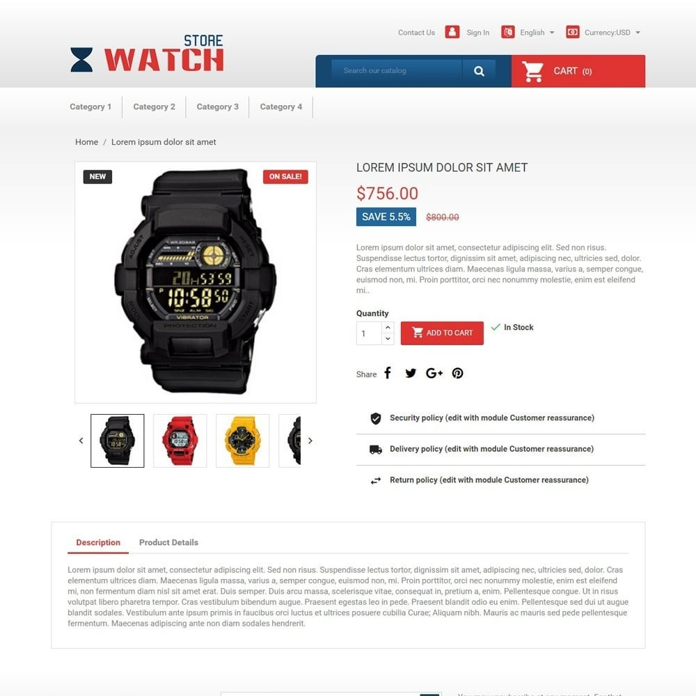 theme - Electronique & High Tech - WatchStore - 3