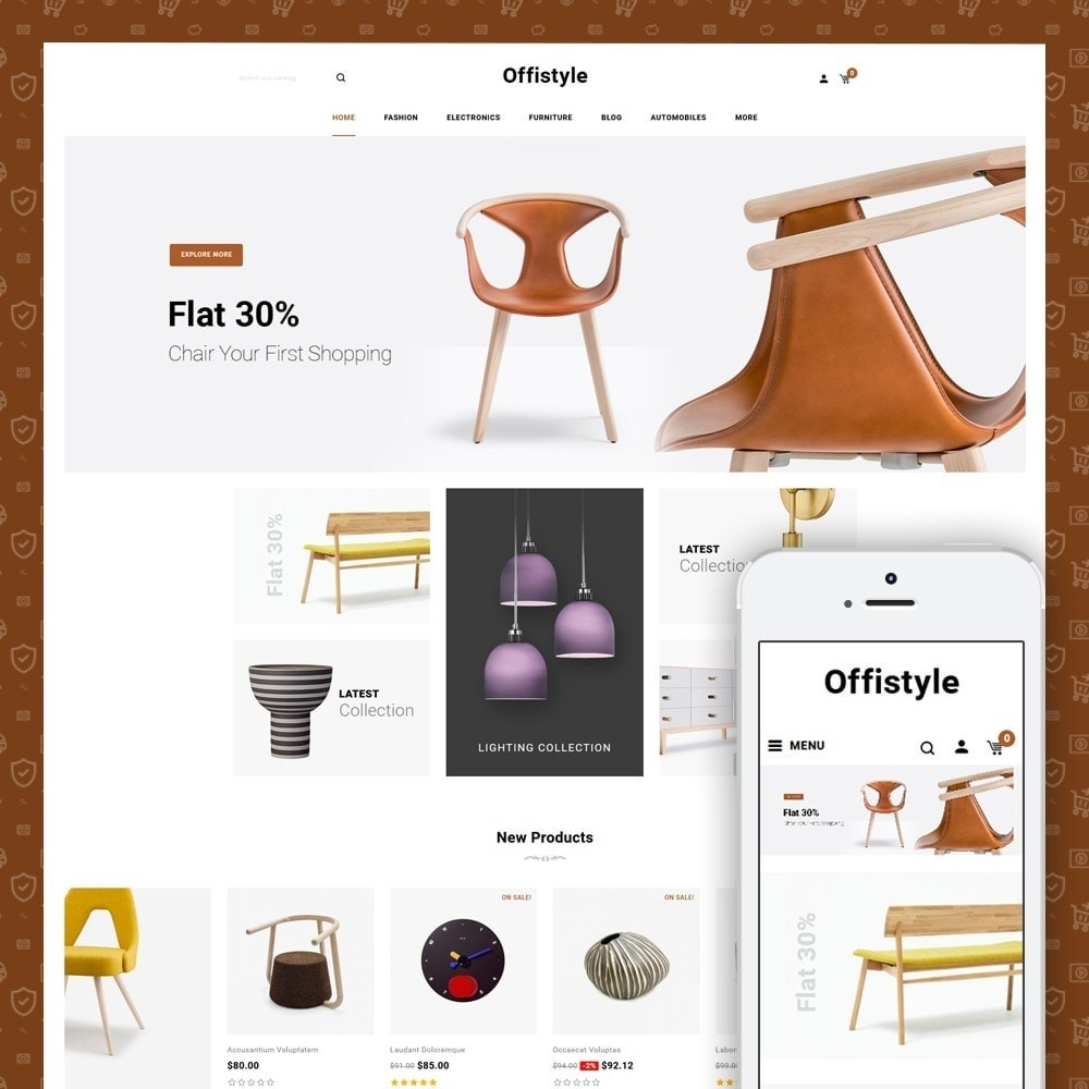 theme - Home & Garden - Offistyle - Furniture Store - 1
