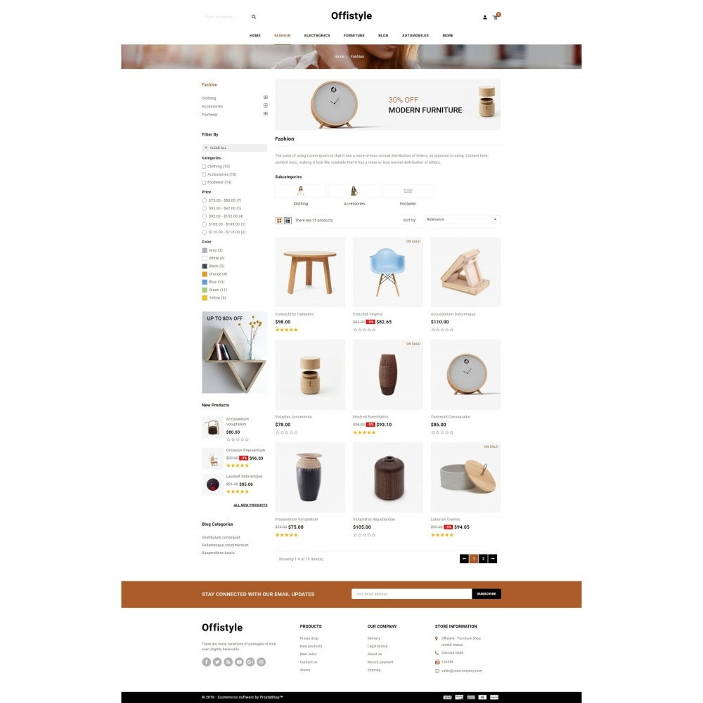 theme - Home & Garden - Offistyle - Furniture Store - 3