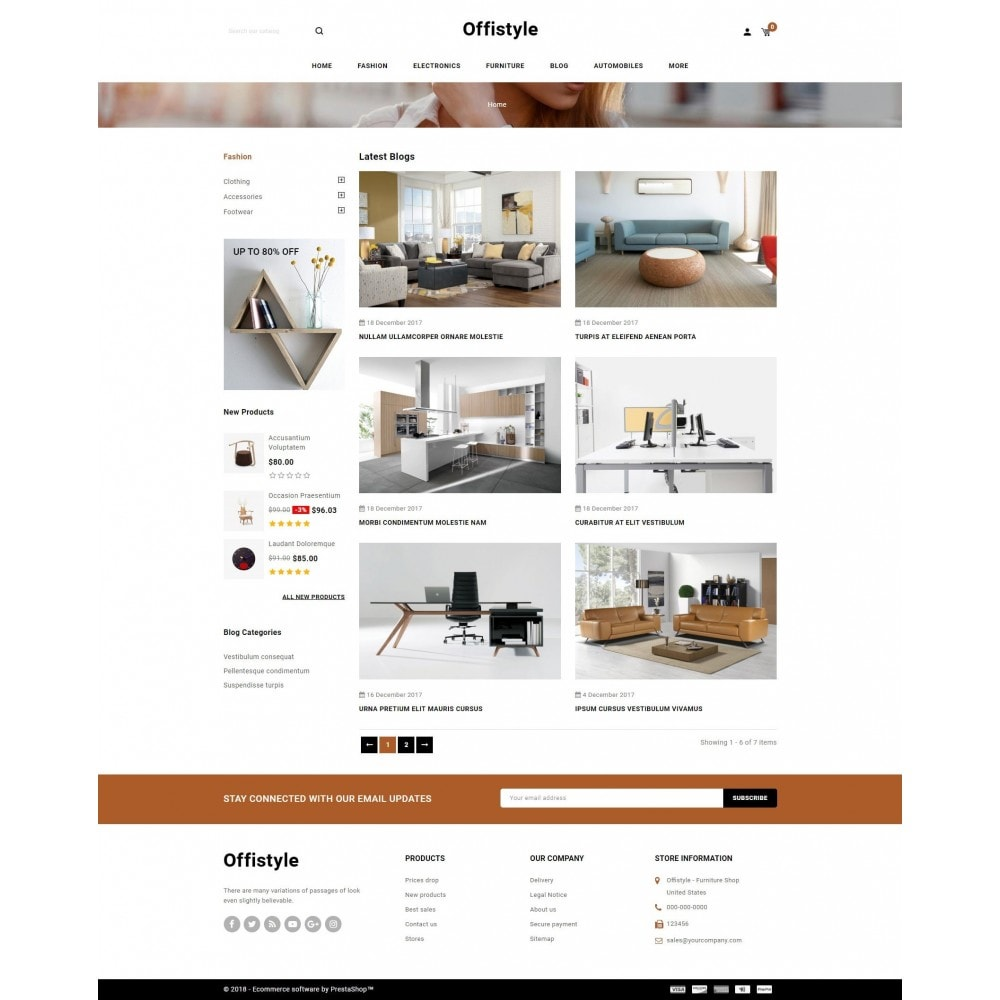 theme - Home & Garden - Offistyle - Furniture Store - 9