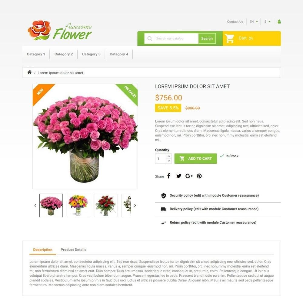theme - Cadeaux, Fleurs et Fêtes - AwesomeFlowers - 3