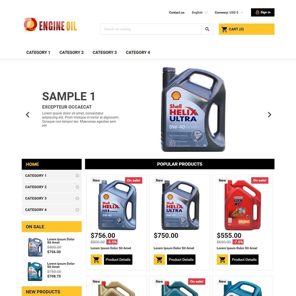 theme - Auto & Moto - EngineOil - 1