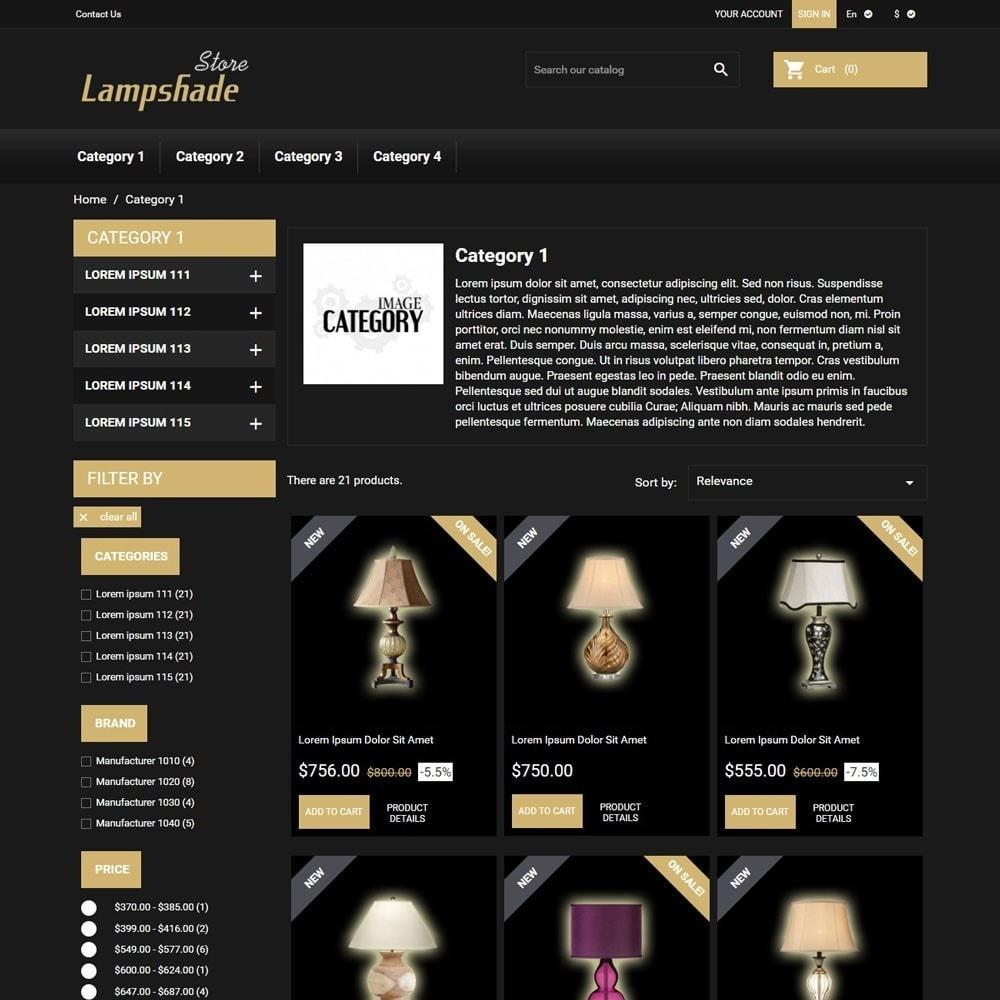 theme - Casa & Giardino - LampshadeStore - 2