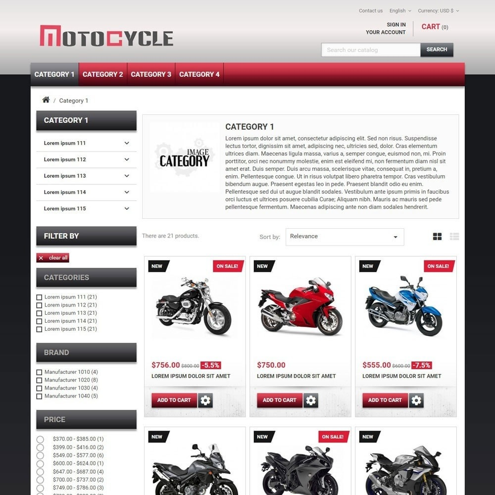 theme - Auto & Moto - MotoCycle - 2