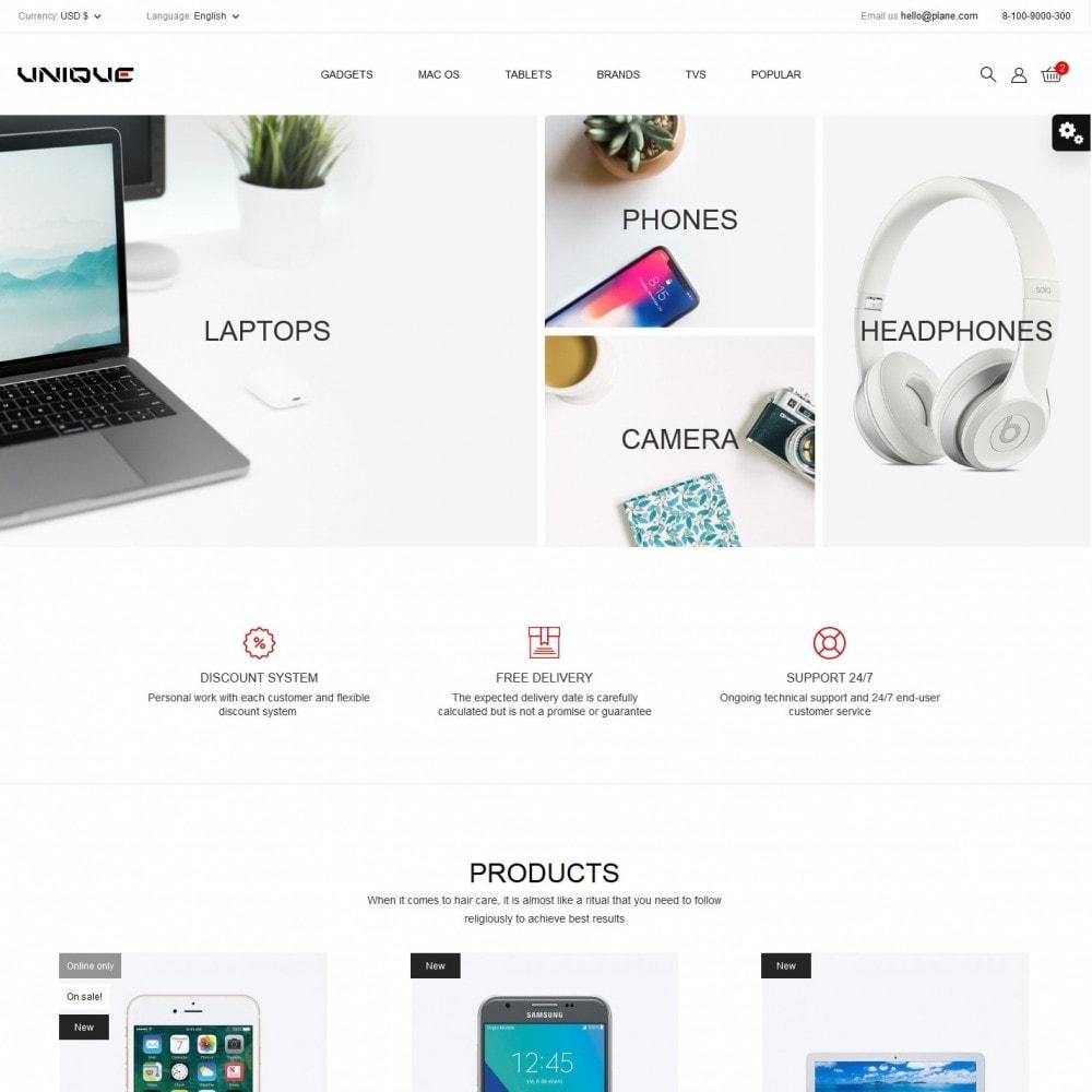 theme - Electronics & Computers - Unique - High-tech Shop - 2