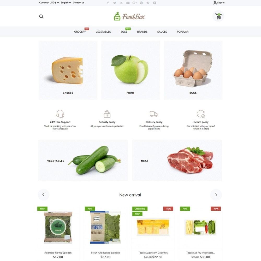 theme - Food & Restaurant - FoodBox - 2