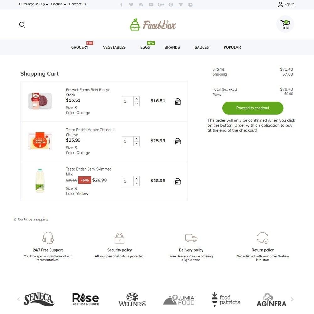 theme - Food & Restaurant - FoodBox - 7