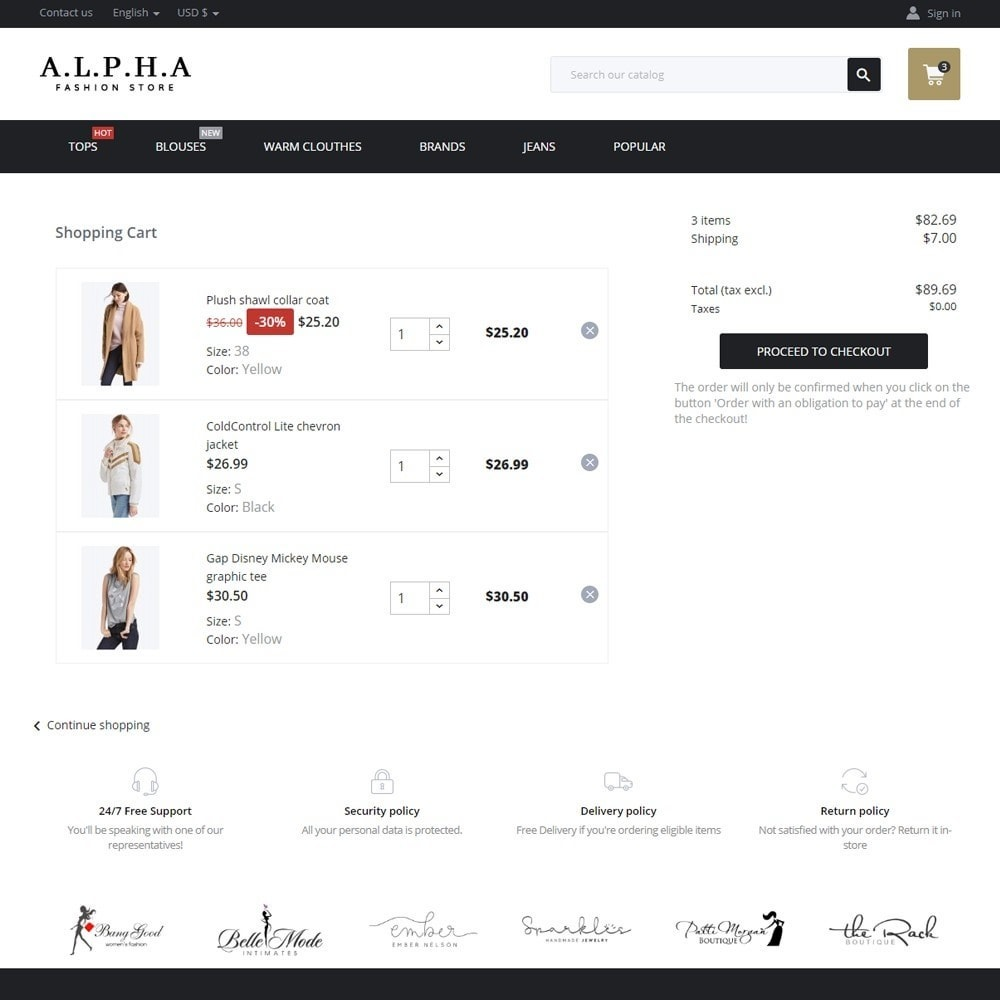 theme - Mode & Chaussures - Alpha Fashion Store - 7