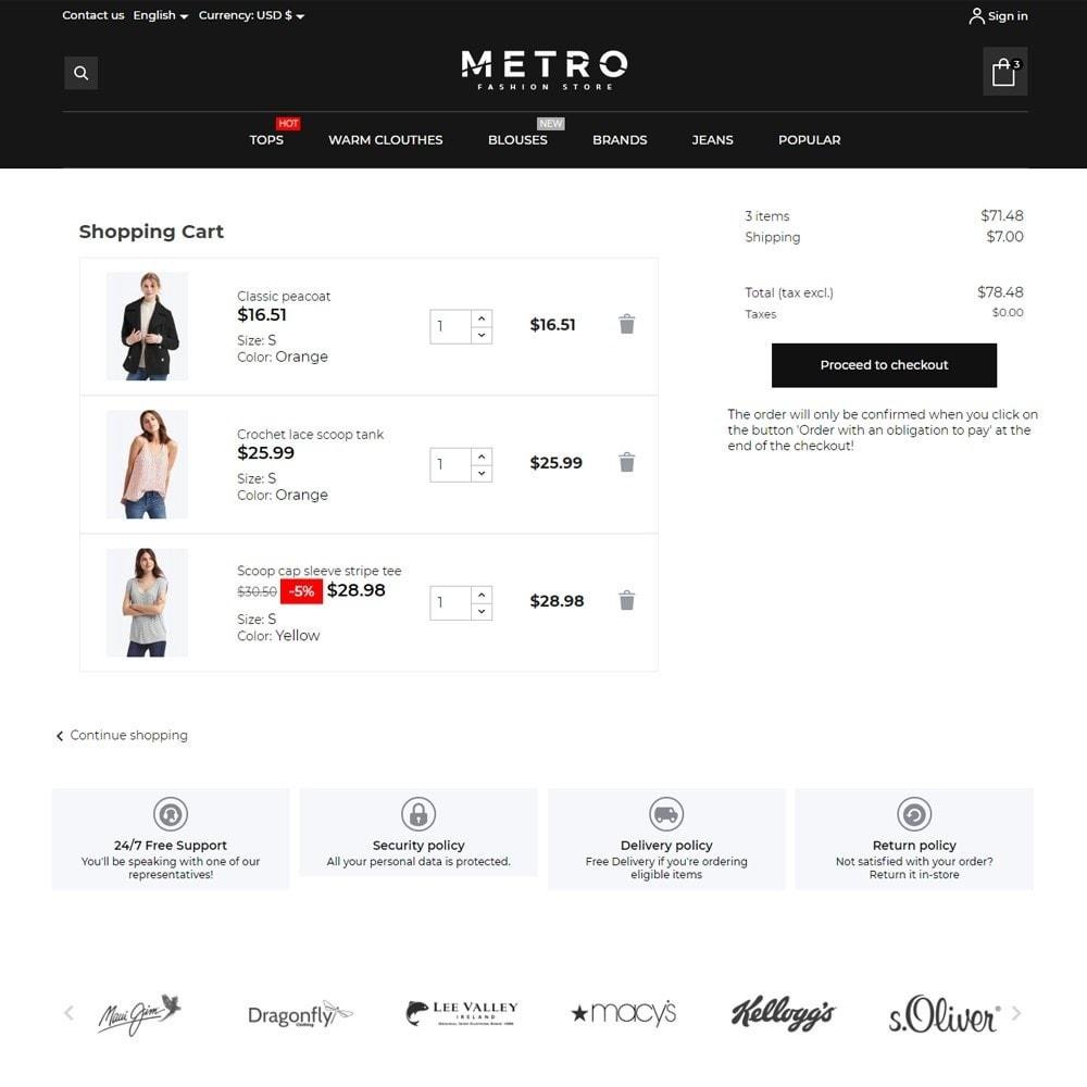 theme - Fashion & Shoes - Metro Fashion Store - 7