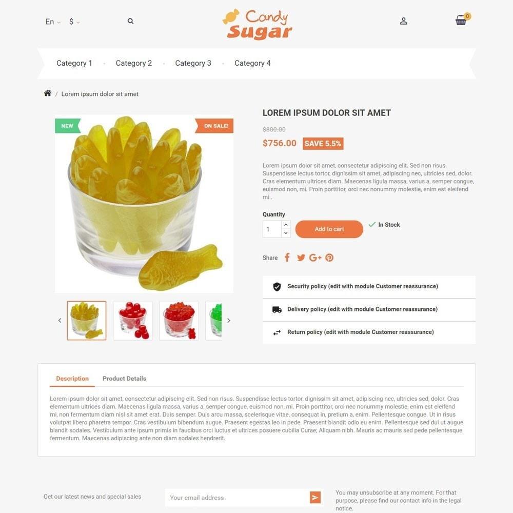 theme - Alimentos & Restaurantes - CandySugar - 3