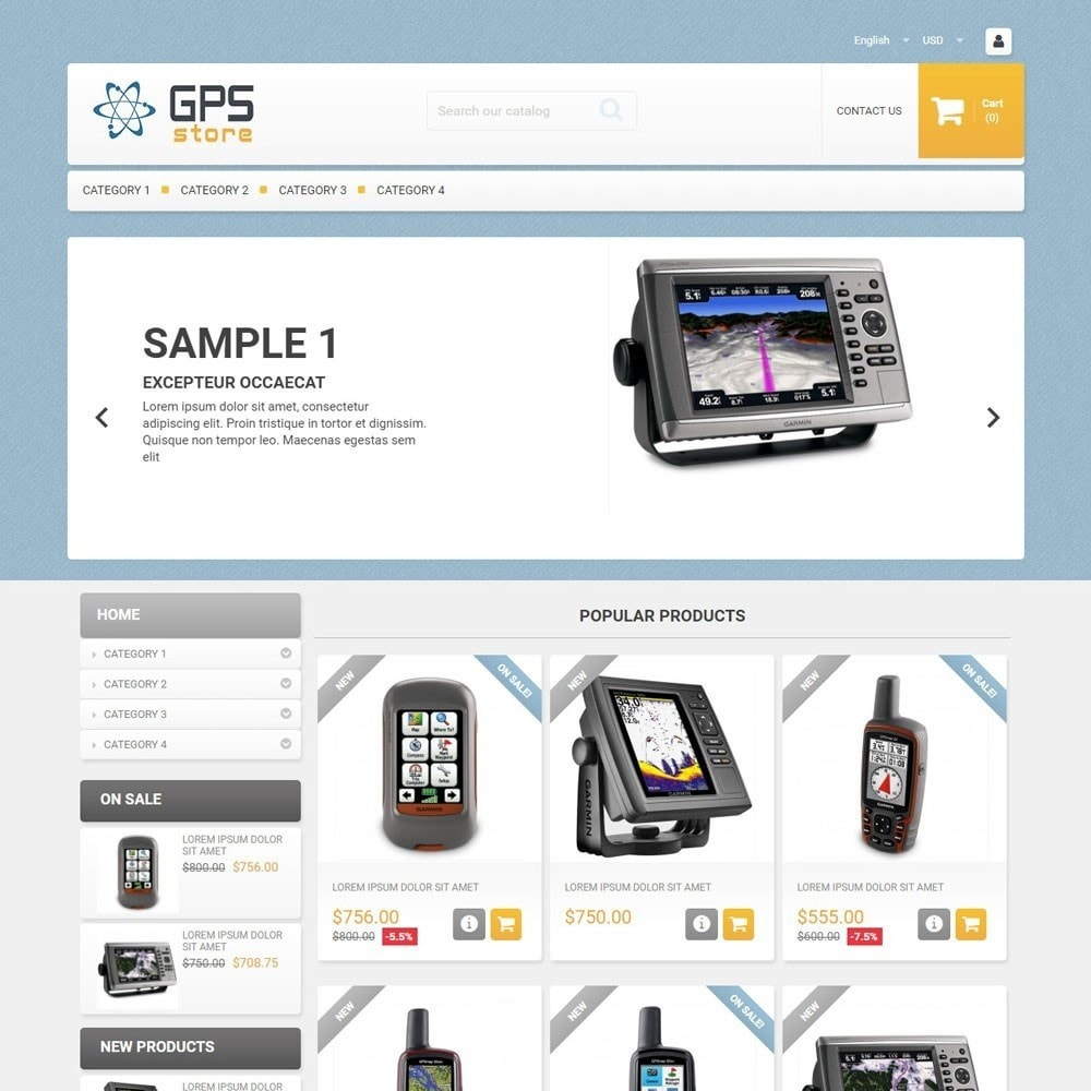 theme - Electronics & Computers - GPSStore - 1